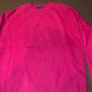 Polo hot pink sweater